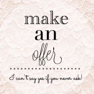 I love offers! 💕